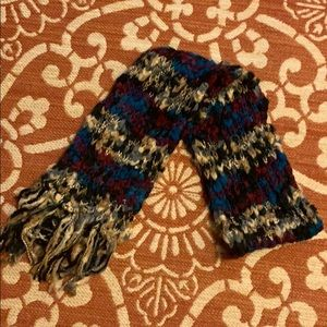 Funky multicolored scarf